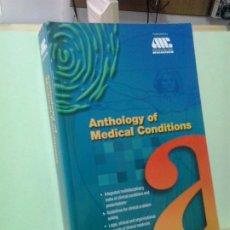 Libros de segunda mano: LMV - ANTHOLOGY OF MEDICAL CONDITIONS. TEXTO EN INGLES. Lote 195270806