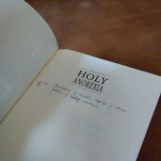 Libros de segunda mano: HOLY ANOREXIA. RUDOLPH M. BELL. Lote 195279253