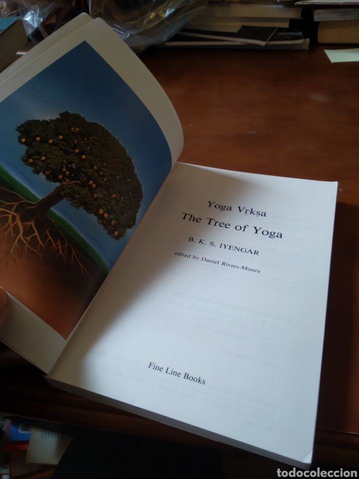Libros de segunda mano: THE THREE OF YOGA. IYENGAR - Foto 3 - 195280280