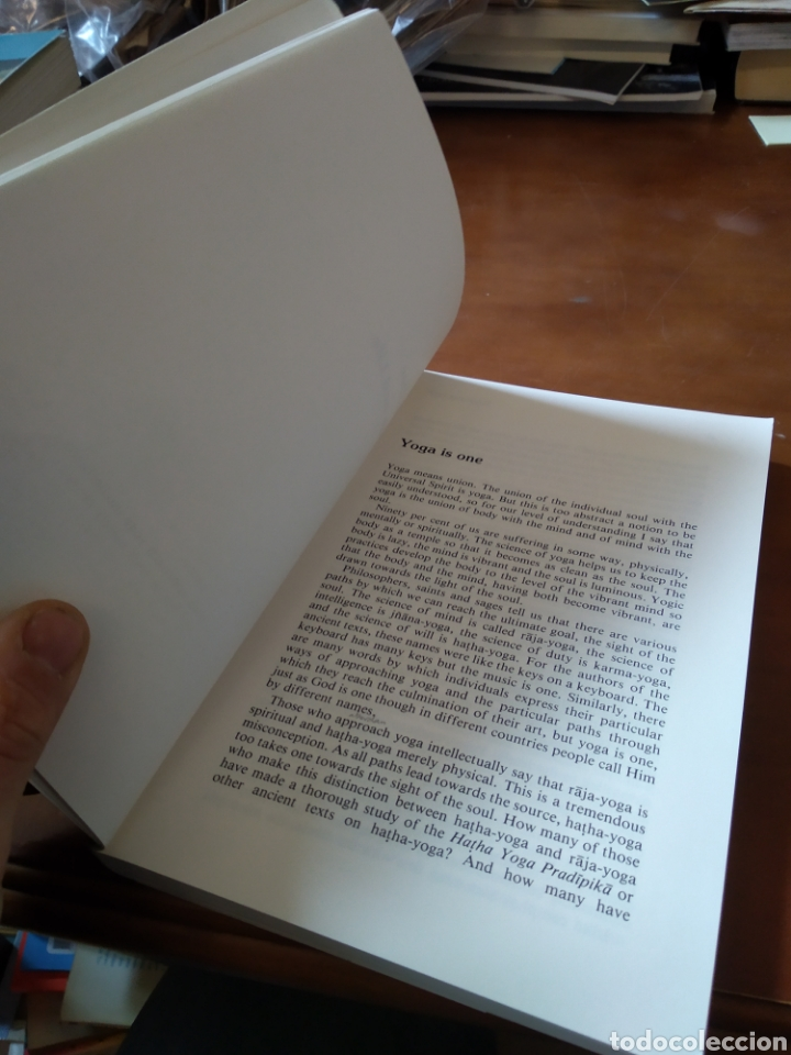 Libros de segunda mano: THE THREE OF YOGA. IYENGAR - Foto 4 - 195280280
