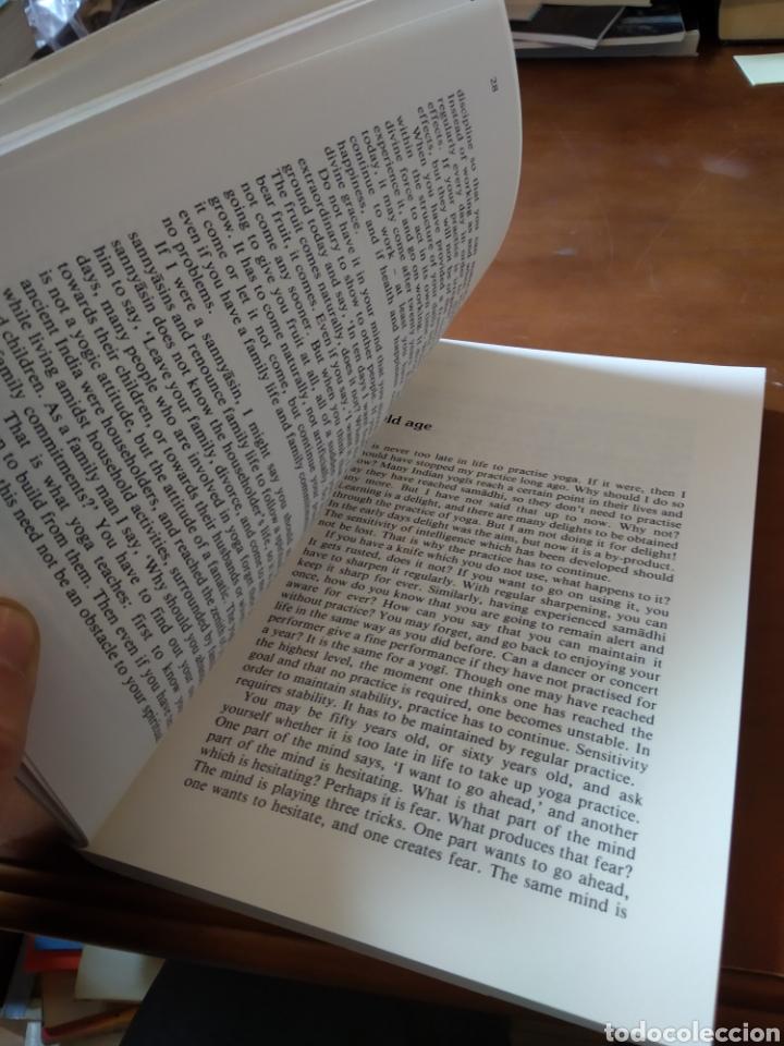 Libros de segunda mano: THE THREE OF YOGA. IYENGAR - Foto 5 - 195280280