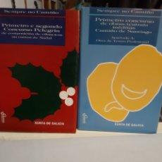 Libros de segunda mano: GALICIASEMPRE NO CAMIÑO PRIMERO E SEGUNDO CONCURSO PELEGRIN CUENTOS NADAL TEATRO PROFESIONAL 1994. Lote 195304607