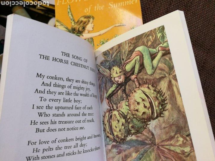 Libros de segunda mano: LOTE 2 LIBRITOS FLOWER FAIRIES DE CICELY MARY BARKER. EN INGLÉS - Foto 3 - 195305276