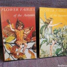 Libros de segunda mano: LOTE 2 LIBRITOS FLOWER FAIRIES DE CICELY MARY BARKER. EN INGLÉS. Lote 195305276