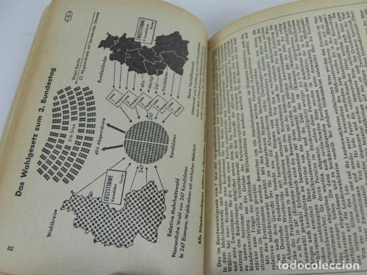 Libros de segunda mano: GRUNDGESETZ FÜR BUNDESREPUBLIK DEUTSCHLAND (CONSTITUCION PARA LA REP. FED. ALEMANA) - Foto 7 - 195365803