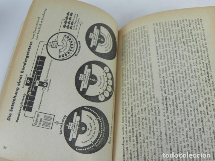 Libros de segunda mano: GRUNDGESETZ FÜR BUNDESREPUBLIK DEUTSCHLAND (CONSTITUCION PARA LA REP. FED. ALEMANA) - Foto 8 - 195365803