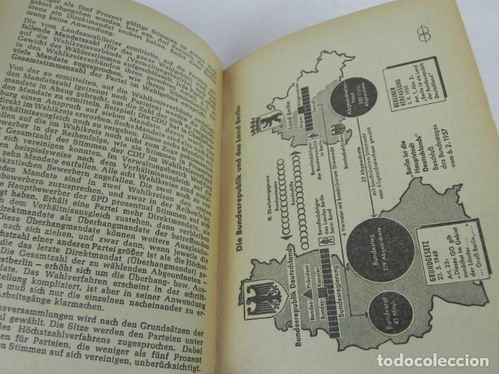Libros de segunda mano: GRUNDGESETZ FÜR BUNDESREPUBLIK DEUTSCHLAND (CONSTITUCION PARA LA REP. FED. ALEMANA) - Foto 9 - 195365803