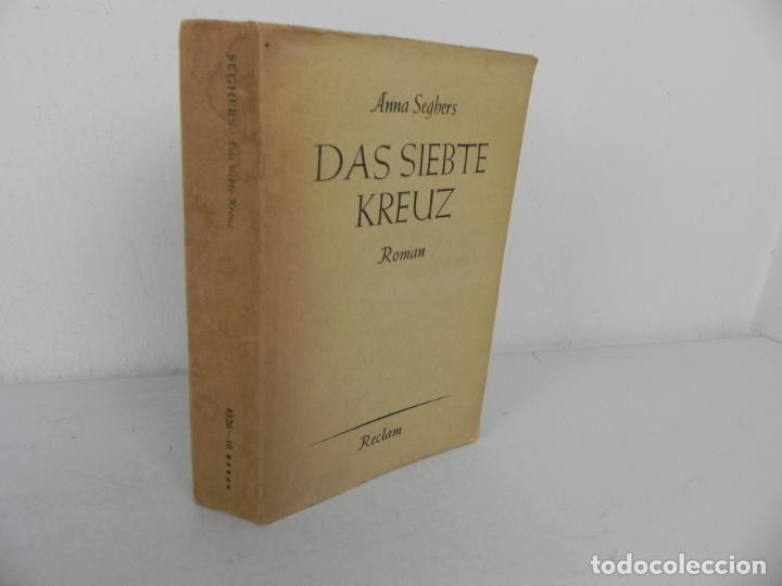 Libros de segunda mano: DAS SIEBTE KREUZ (ANNA SEGBERS) LA SEPTIMA CRUZ (EN ALEMÁN) - Foto 2 - 195366343
