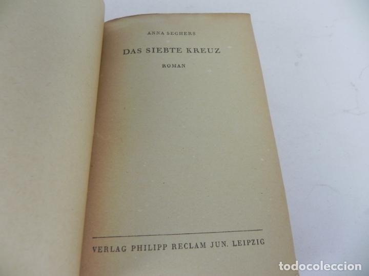 Libros de segunda mano: DAS SIEBTE KREUZ (ANNA SEGBERS) LA SEPTIMA CRUZ (EN ALEMÁN) - Foto 3 - 195366343