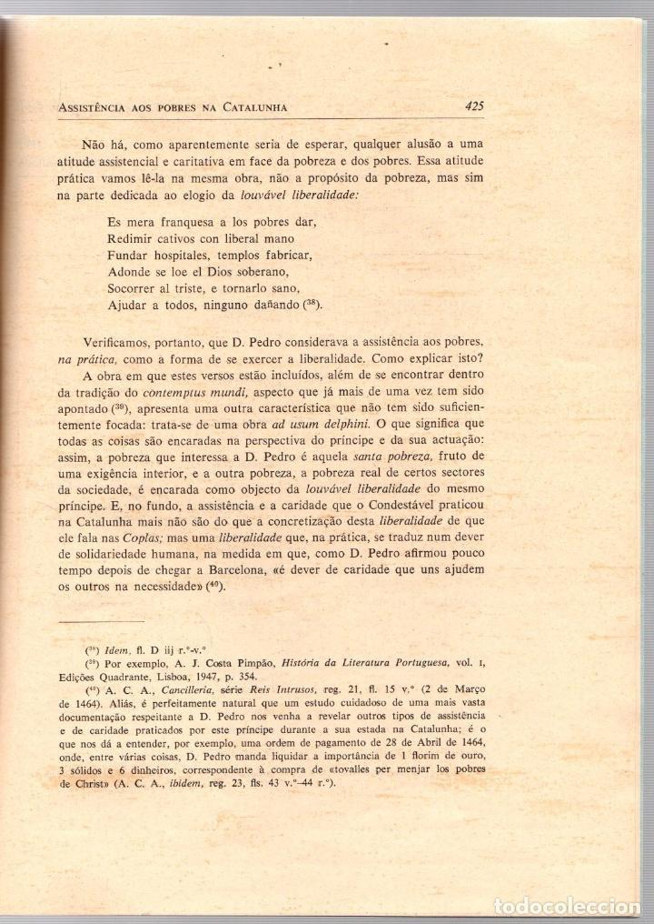 Libros de segunda mano: A ASSISTÊNCIA AOS POBRES NA CATALUNHA DURANTE O REINADO DO CONDESTÁVEL D. PEDRO DE ARAGÃO (1464-1466 - Foto 4 - 195367752