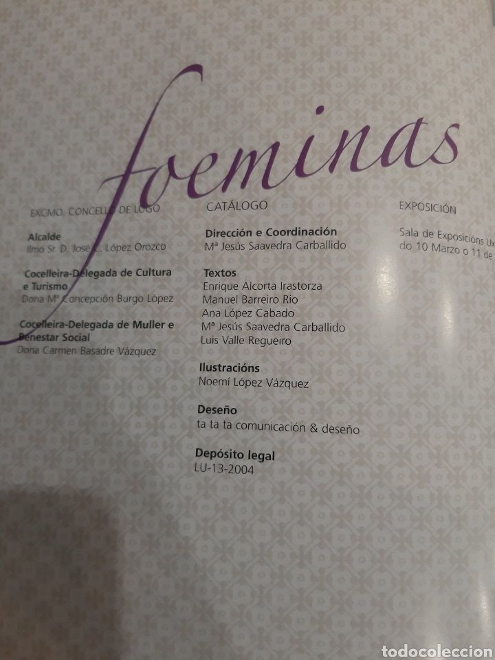 Libros de segunda mano: Galicia FAEMINAS DONAS E MULLERES ESQUECIDAS LUGO 1950 - Foto 2 - 195370515