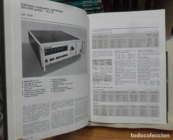 Libros de segunda mano: INSTRUMENTS ET SYSTEMES - SCHLUMBERGER - 1973-74 ** EN FRANCES - Foto 6 - 195375385