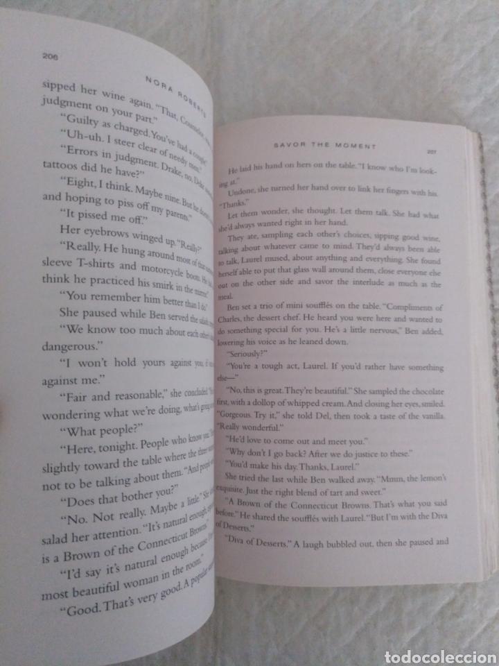 Libros de segunda mano: Savor the moment. Nora Roberts. Bride Quartet. Libro - Foto 3 - 195393048