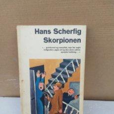 Libros de segunda mano: SKORPIONEN. HANS SCHERFIG. Lote 195493751