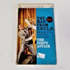 Libros de segunda mano: EL HOMBRE DEL TÍO THE CORFU AFFAIR # 13 1967 POR JOHN T. PHILLIFENT MGM ARENA TV - 11 X 18.CM. Lote 197056127