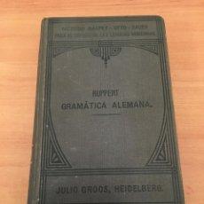 Libros de segunda mano: GRAMÁTICA ALEMANA. Lote 197062167