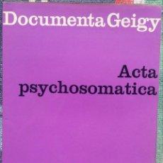 Libros de segunda mano: PSYCHOTHÉRAPIE D'UN GARÇON ASTHMATIQUE – WALTER ZÜBLIN (GEIGY, 1962) /// FRANCÉS MEDICINA PEDIATRÍA. Lote 197450160