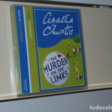 Livros em segunda mão: AUDIOBOOK AGATHA CHRISTIE THE MURDER ON THE LINKS 5 CDS UNABRIDGED READ BY HUGH FRASER - HARPER. Lote 197716520