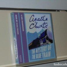 Livros em segunda mão: AUDIOBOOK AGATHA CHRISTIE THE MISTERY OF THE BLUE... 5 CDS UNABRIDGED READ BY HUGH FRASER - HARPER. Lote 197717691