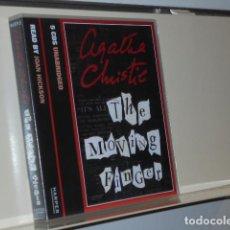 Livros em segunda mão: AUDIOBOOK AGATHA CHRISTIE THE MOVING FINGER 5 CDS UNABRIDGED READ BY JOAN HICKSON - HARPER. Lote 197718783