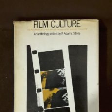 Libros de segunda mano: FILM CULTURE AN ANTHOLOGY EDITED BY P. ADAMS SITNEY WITH 79 ILLUSTRATIONS 1971. Lote 198388390