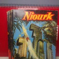 Libros de segunda mano: NIOURK - STEFAN WUL ( EDITIONS FLEUVE NOIR, ANTICIPATION SF ). Lote 198593745
