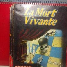 Libros de segunda mano: LA MORT VIVANTE - STEFAN WUL ( EDITIONS FLEUVE NOIR, ANTICIPATION SF ). Lote 198593842