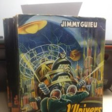 Libros de segunda mano: SF JIMMY GUIEU : L´UNIVERS VIVANT ( EDITIONS FLEUVE NOIR ANTICIPATION ). Lote 198771932