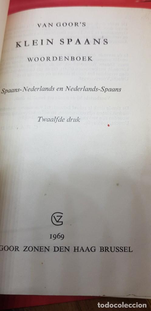 Libros de segunda mano: VAN GOORS KLEIN SPAANS BOCK 1969 - Foto 2 - 199198268