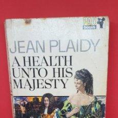 Libros de segunda mano: A HEALTH UNTO HIS MAJESTY JEAN PAIDY 1970 . Lote 199198857