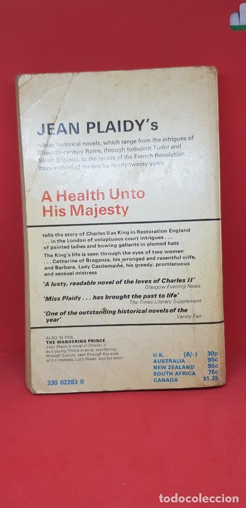 Libros de segunda mano: A HEALTH UNTO HIS MAJESTY JEAN PAIDY 1970 - Foto 3 - 199198857