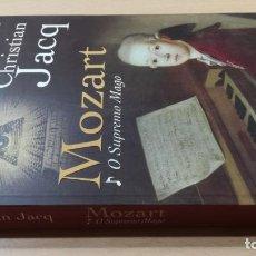 Libros de segunda mano: O SUPREMO MAGOCHRISTIAN JACQMOZARTHISTÓRIA EM PORTUGUESÓ -102. Lote 199433878