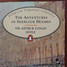 Libros de segunda mano: THE ADVENTREES OF SHERLOCK HOLMES – SIR ARTHUR CONAN DOYLE – PENGUIN POPUAR CLASICS. Lote 199728445