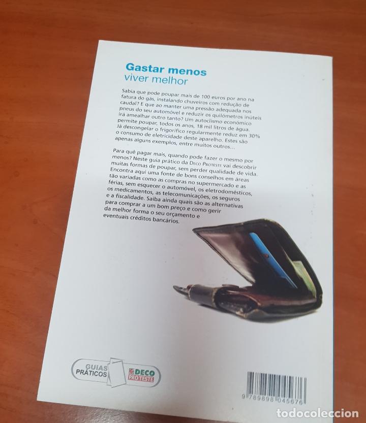 Libros de segunda mano: Libro Gastar menos y vivir mejor - Portugal - Foto 2 - 53092729