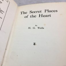 Libros de segunda mano: THE SECRET PLACES OF THE HEART BY H G WELLS HB 1922. FIRST PUBLISHED. IDIOMA INGLÉS.. Lote 200750448