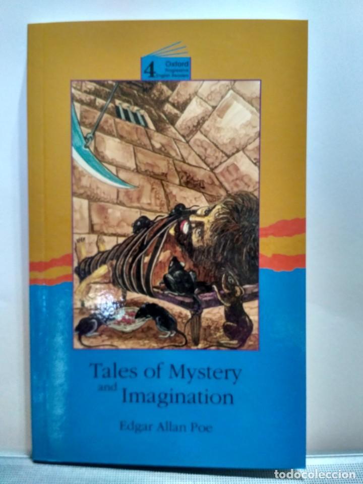 TALES OF MYSTERY AND IMAGINATION, EDGAR ALLAN POE. OXFORD NIVEL 4 9780195854633 (Libros de Segunda Mano - Otros Idiomas)