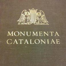 Libros de segunda mano: MONUMENTA CATALONIAE. VOL VII. L'ESCULTURA ROMÀNICA A CATALUNYA. EDITORIAL ALPHA BARCELONA. Lote 201297413