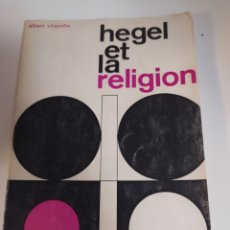 Livros em segunda mão: HEGEL ET LA RELIGION. Lote 201532676