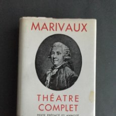 Libros de segunda mano: MARIVAUX - THÉATRE COMPLET - BIBLIOTHÉQUE PLÉIADE - FRANCÉS. Lote 203452697