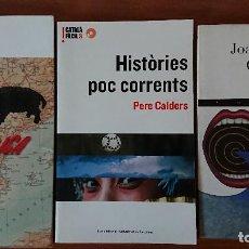 Libros de segunda mano: PERRUCA DE SENGLAR– MONTSE SUBIRANA - LA FOSCA ARREL DEL CRIT – JOAN ANTONIO CERRATO - HISTÒRIES. Lote 204463120