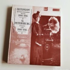 Libros de segunda mano: LIBRO ST. PETERSBURG ARTISTIC LIFE 1900-1916 PHOTOCHRONICLE - UNICO!!!. Lote 204465645