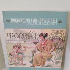 Libros de segunda mano: MONDARIZ, UN AGUA CON HISTORIA. LA PASIÓN DE UNA BURBUJA. 125 ANIVERSARIO. VVAA. 2005. VER FOTOS.. Lote 205086963