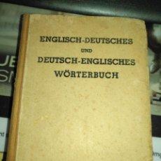 Libros de segunda mano: ENGLISCH - DEUTSCHES UND DEUTSCH ENGLISCHER WORTERBUCH , STUTTGART FRANZ MITTELBACH VERLAG. Lote 205170382