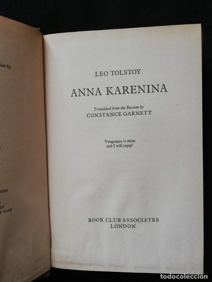 Libros de segunda mano: ANNA KARENINA - LEO TOLSTOY (ENGLISH) - Foto 3 - 205399623