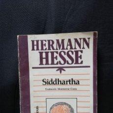 Libros de segunda mano: SIDDHARTHA - HERMANN HESSE (EN CATALÁN). Lote 205528276