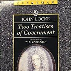 Libros de segunda mano: JOHN LOCKE - TWO TREATISES OF GOVERNMENT. Lote 207258345