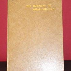 Libros de segunda mano: RUBAIYAT DE OMAR KHAYYAM. ENCUADERNACIÓN EN RÚSTICA TAPA DURA. RICAMENTE ILUSTRADO.. Lote 207615812