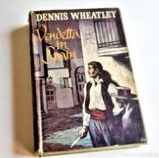 Libros de segunda mano: 1961 LIBRO VENDETTA IN SPAIN. Lote 207892858
