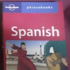 Libros de segunda mano: SPANISH PHRASEBOOKS - ED. LONELY PLANET. Lote 208166437