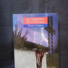 Libros de segunda mano: ELS DIMONIS DE PANDORA - SILVESTRE VILAPLANA - VALENCIÀ. Lote 208279601